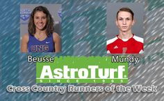North Georgia's Emily Beusse, Flagler's Corey Mundy Named AstroTurf Runners of the Week