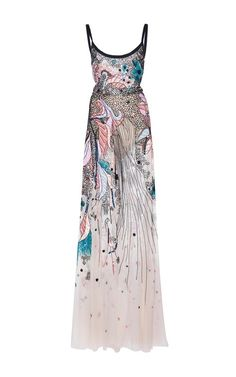 Bead Embroidered Tulle Gown by ELIE SAAB for Preorder on Moda Operandi