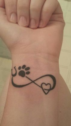 Image result for horseshoe infinity tattoo