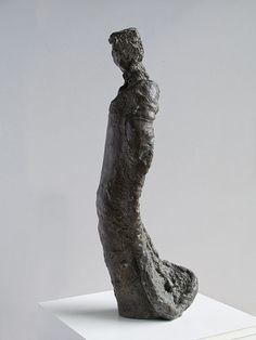 Wood Madonna (bronze)