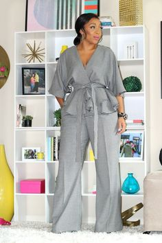 Classy Dress, Classy Outfits, Chic Outfits, Fashion Outfits, Curvy Girl Fashion, Womens Fashion For Work, Plus Size Fashion, Latest African Fashion Dresses, African Print Fashion