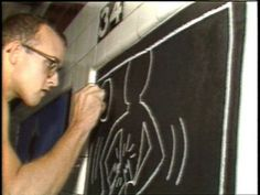 CBS Sunday Morning show: Keith Haring subway drawings 3:21