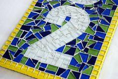 Address Sign Custom Mosaic House Numbers by GreenStreetMosaics, $70.00