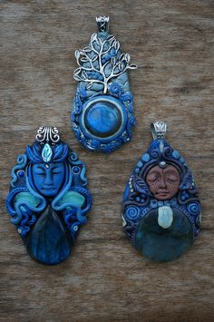 I want to share with you some wonderful pendants who were born on creative rainy days in April 2014 - the Night Sky collection ! By ChaNoJa Jewelry.  Goddess jewelry polymer clay pendants labradorite tree of life. Find the available creations in our shop: https://www.etsy.com/ch-en/shop/ChaNoJaJewelry?ref=hdr_shop_menu