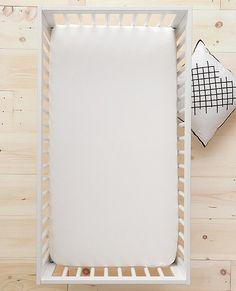 HannaSoft™ Signature White Sheet Set | Hanna Home Crib Sheets