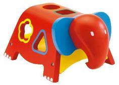 boîte à formes 'géo éléphant'