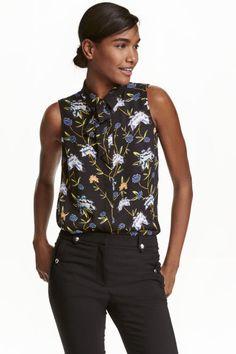 Blusa con lazada | H&M