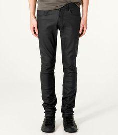 Calça Jeans encerada