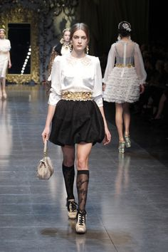 dolce gabbana fw 2013 collection-women
