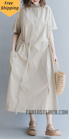 Simple Plus Size Maxi Dresses Women Casual Long Clothes Casual Summer Dresses, Summer Outfits Women, Casual Dresses For Women, Casual Outfits, Clothes For Women, Casual Clothes, Summer Clothes, Plus Size Maxi Dresses, Cute Dresses