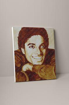 Large Canvas Prints, D1, Michael Jackson, Store, Natural, Artist, Painting, Larger, Artists