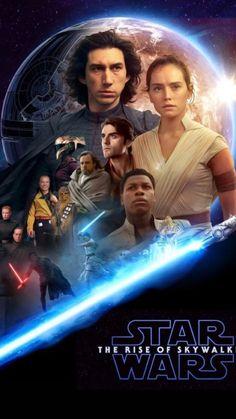 Star Wars: The Rise of Skywalker 'Fan Art' Poster 2 Finn Star Wars, Star Wars Episoden, Star Wars Watch, Star Wars Fan Art, Star Wars Film, Inuyasha Cosplay, Rey Cosplay, War Film, Star Wars Wallpaper