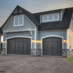 Detached 2 Story Garage Design Ideas, Pictures, Remodel and Decor