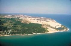 When you hit Traverse City you want to go to the Sleeping Bear Dunes, beautiful.