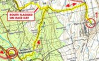 Three Peaks Race Map Maps, Racing, Auto Racing, Lace, Cards, Peta, Map