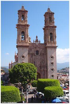 Santa Prisca Cathedral, Taxco, México. Patrimonio de la humanidad.