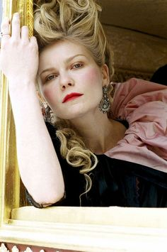 In honor of Princess Diana's birthday, here's a look at our list of royal beauty icons: Kirsten Dunst as Marie Antoinette. Sofia Coppola, Kirsten Dunst Marie Antoinette, Marie Antoinette Film, Georgia O'keeffe, Princess Beauty, Sunday Inspiration, Royal Beauty, Famous Movies, Imdb Movies