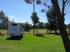 Grenfell Caravan Park NSW. Very nice park in a quiet location.