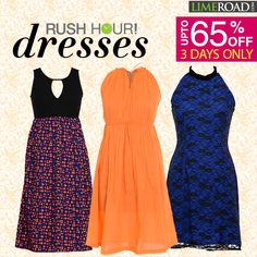 The rush hour is back! Avail heavy discounts on an array of our glorious spring dresses & tops. http://limeroad.me/1vfB5Xl
