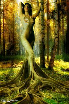 greek mythology goddess of nature | in greek mythology the dryads are female spirits of nature nymphs who ...