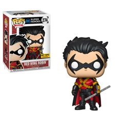 Vinyl FREE Global Shipping Batman Red Wing Robin US Exclusive Pop