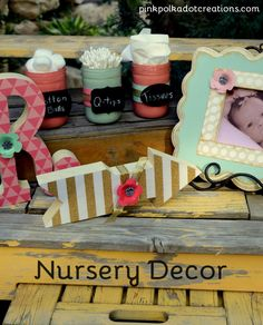 Nursery Decor and mu