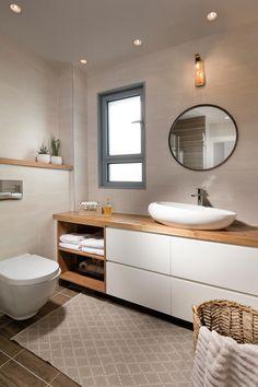 Bathroom Design Luxury, Modern Bathroom Decor, Small Bathroom, Home Room Design, Home Interior Design, Bathroom Renos, Dream Bathrooms, Bathroom Inspiration, Rustic Bathrooms