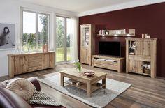 STROMBERG - Obývačková zostava, vyhotovenie: Dub wotan Neutral, Table, Medium, Furniture, Home Decor, Oak Tree, Closet, Living Room, Timber Wood