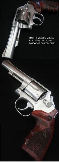 SMITH WESSON MODEL 65 NYPD ISSUE WITH S & W custom grips GRIPS FOR 686 L FRAMES - SALE PLEASE VISIT http://stores.ebay.com/gce-sports