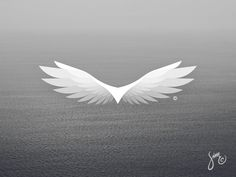 Eagle #5 | Logo Design concept white float mark majestic logo design logo light flight eagle bird