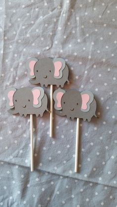 Check out this item in my Etsy shop https://www.etsy.com/listing/221349056/elephant-cupcake-toppers