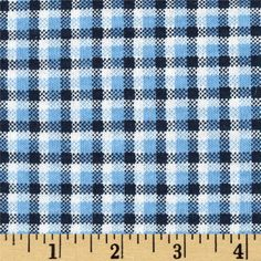 Scout Collection Plaid Cotton Jersey Knit Blue from @fabricdotcom  This cotton jersey knit fabric has a soft hand and about 25% stretch across the grain. This versatile fabric is perfect for creating kids' apparel and T-shirts. Remember to allow extra yardage for pattern matching.