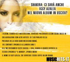 Tra poco esce il nuovo album si +Shakira