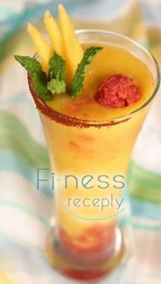 place winner of the Tropical Fruit Drinks Contest The Caribbean Cowboy Cocktail. Coupla yummy drinks on the site. Party Drinks, Cocktail Drinks, Cocktail Recipes, Fruit Drinks, Cocktail Shaker, Mango Cocktail, Refreshing Drinks, Summer Drinks, Colorful Cocktails