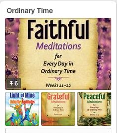 ORDINARY TIME IS BACK! Celebrate by visiting our Ordinary Time board. We can help you make the longest—and most underrated—liturgical season just as special and meaningful as the others. Click on the image to see it.