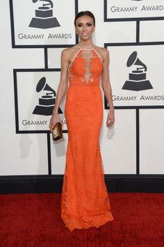 Giuliana Rancic | Fashion On The 2014 Grammy Awards Red Carpet