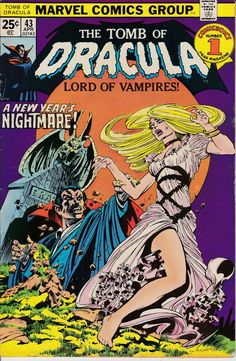 Tomb of Dracula 43  April 1976 Issue  Marvel Comics by ViewObscura