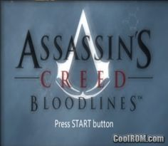 Assassin's Creed - Bloodlines ROM (ISO) Download for Sony Playstation Portable / PSP - CoolROM.com
