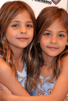 twin daughters of Stephen Dempsey and Agatha Ramirez; half-sisters/cousins of Keith Ramirez. Most Beautiful Child, Beautiful Little Girls, Cute Little Girls, Beautiful Smile, Beautiful Children, Young Models, Child Models, Cute Twins, Twin Outfits