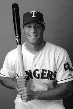 Gabe Kapler- Texas Rangers..aww back in the day