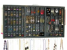 Jewelry Organizer earring storage