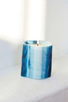 Le Feu de L'eau Bleu Phthalo Candle