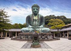 Find Monumental Bronze Statue Great Buddha Kamakura stock images in HD and millions of other royalty-free stock photos, illustrations and vectors in the Shutterstock collection. Thousands of new, high-quality pictures added every day. Kamakura, Japanese Novels, Day Trips From Tokyo, Giant Buddha, Countries To Visit, Meditation Techniques, Japan Travel, Japan Trip, Asia Travel