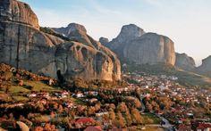 Οι εντυπωσιακοί βράχοι δημιουργήθηκαν πριν από 25-30 εκατομμύρια χρόνια, τότε που ολόκληρη η περιοχή της Θεσσαλίας ήταν λίμνη!