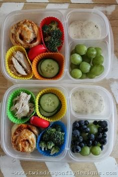 Pizza buns packed for lunch!   with @EasyLunchboxes containers