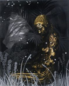 Lina Iris Viktor Painting