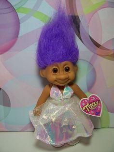 "PROM TRACEY - 7"" Russ Troll Doll - NEW IN ORIGINAL WRAPPER #Russ #TrollDoll"