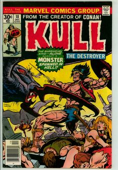 Kull the Destroyer 18 (VG/FN 5.0)