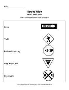 traffic signals for kids Drivers Permit Test, Drivers Ed, Worksheets For Grade 3, English Worksheets For Kids, Health Lesson Plans, Transportation Unit, Alphabet Pictures, Sign Image, Printed Pages