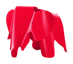 The Charles and Ray Eames–designed elephant, available in an array of cheery hues, is a whimsical addition to the playroom; $330 from DWR. dwr.com